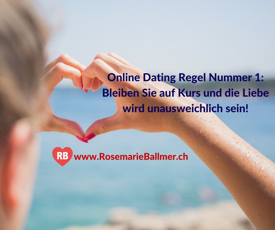 Die Online Dating Regel Nummer 1